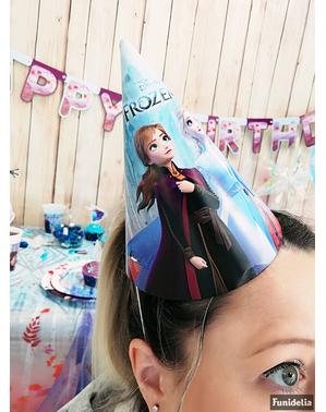 6 gorritos de cumpleaños de Frozen 2