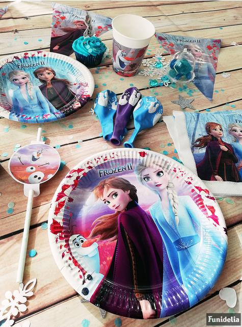 6 pajitas de Frozen 2