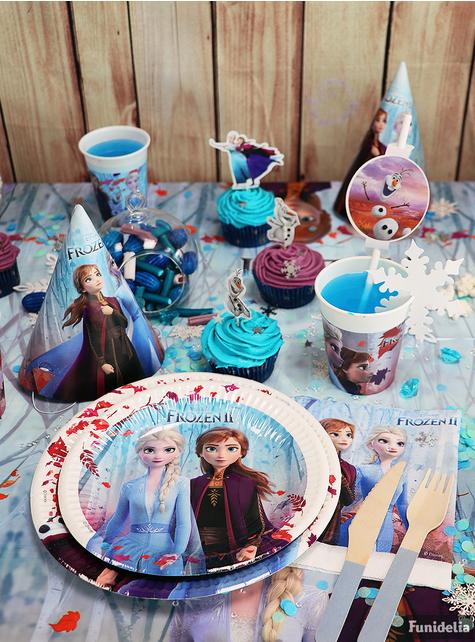 4 pajitas de Frozen 2