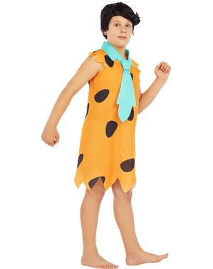 Fato de Fred Flintstone para menino - Os Flintstones