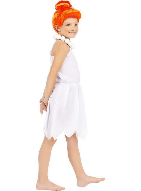 Fato de Wilma Flintstone para menina - Os Flintstones