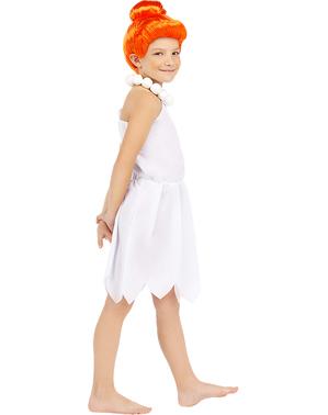 Wilma Feuerstein Kostüm für Mädchen - Familie Feuerstein