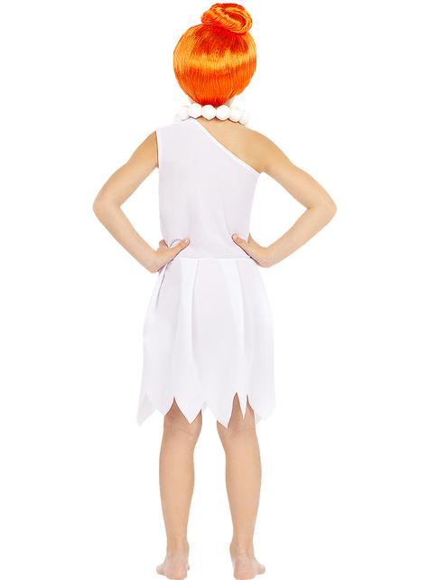 Disfraz de Vilma Picapiedra para niña - Los Picapiedra