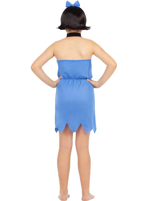 Betty Rubble costume for girls - The Flintstones