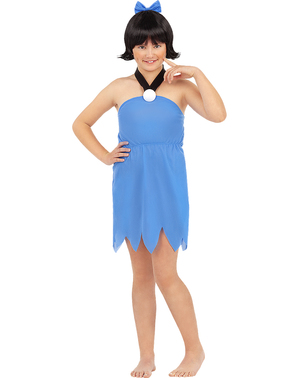 Betty Rubble costume for girls - The Flintstones