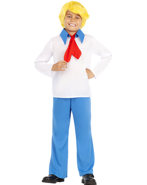 Fato de Fred para menino - Scooby Doo