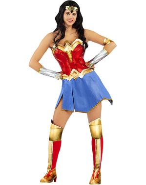Grote maat Wonder Woman kostuum