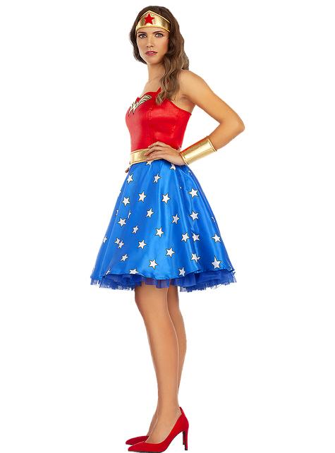 Disfraz de Wonder Woman clásico talla grande