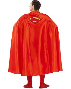 Superman mantel för vuxens