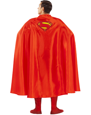 Superman cape for adults