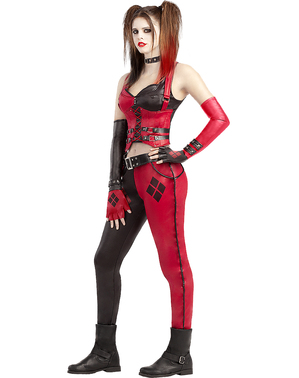 Harley Quinn kostyme - Arkham City