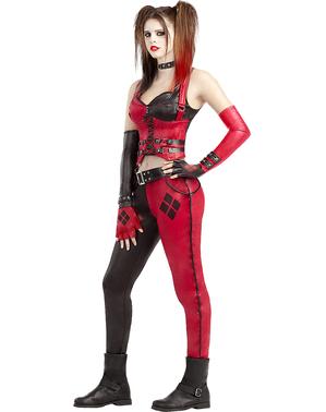 Harley Quinn Maskeraddräkt - Arkham City