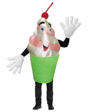 Costume da yogurt gustoso per adulto