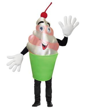 Kostuum cremige yoghurt voor volwassenen