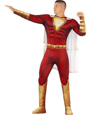 Shazam costume for men