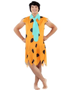 Kostým Fred Flintstone plusová veľkosť - Filnstinovci