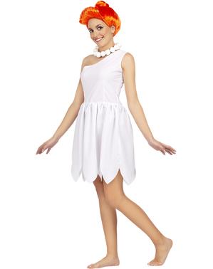 Kostým Wilma Flintstone plusová veľkosť - Filnstinovci