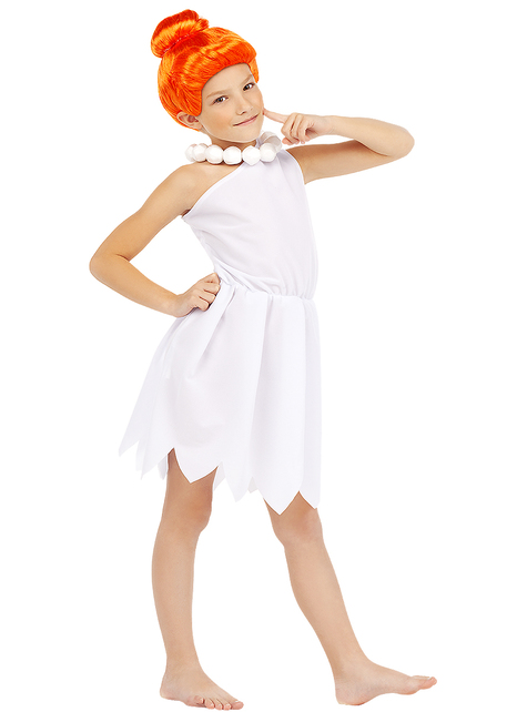 Wilma Flintstone costume for girls - The Flintstones