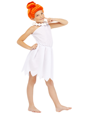 Wilma Flintstone costume for girls - The Flintstones
