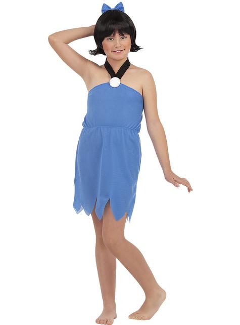 Στολή Μπέτυ Ραμπλ για κορίτσια - Οι Φλίντστοουνς