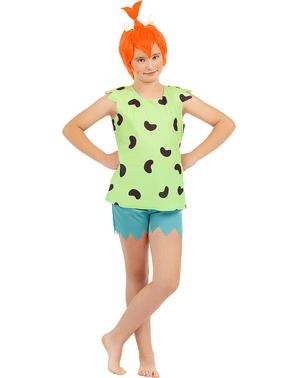 Pebbles kostume til piger - Flintstones