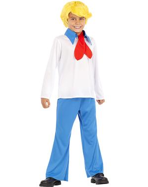 Fred Maskeraddräkt för barn - Scooby Doo