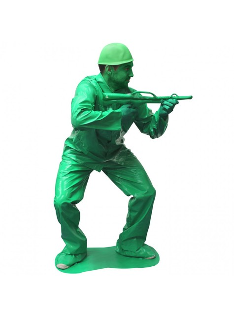Déguisement petit soldat vert