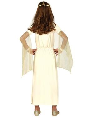 Disfraz de Dios griego para niña