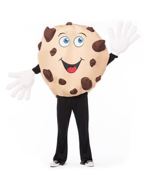 Chocolade koekje Kostuum voor volwassenen