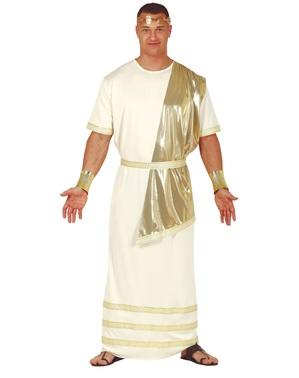 Elegant gresk gudekostyme til menn