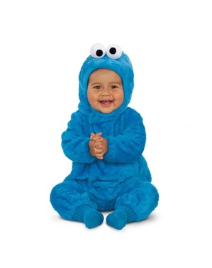 Sesame Street Cookie Monster Costume for Babies
