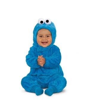 Sesame Street Cookie Monster Kostume til babyer