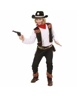 Disfraz de vaquero del lejano oeste para niño