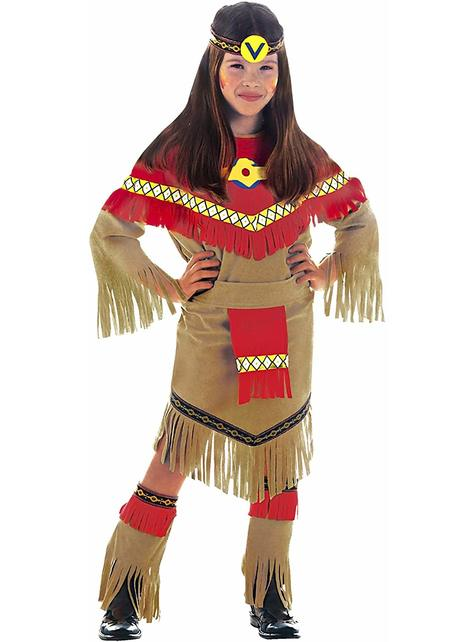 Indian princess costume for a girl