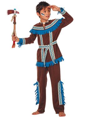 Fato de índio principiante para menino