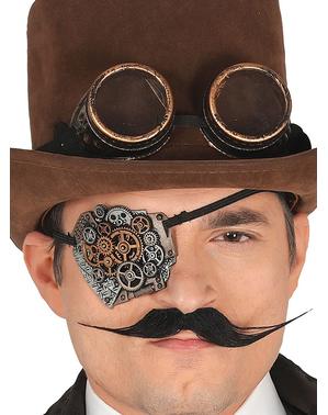 Okulary steampunk dla dorosłego