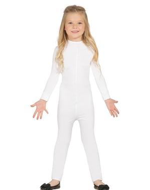 Weißer Overall für Mädchen