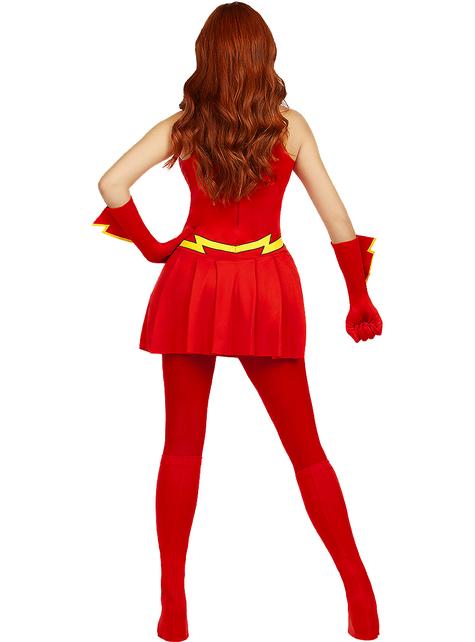Fato de Flash para mulher