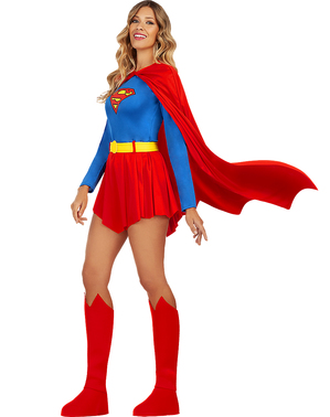 תחפושת סופרגירל לנשים