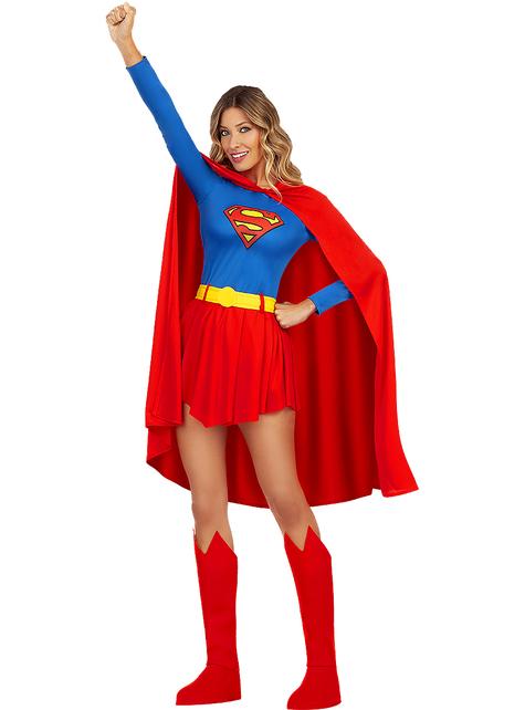 Supertyttö asu naisille