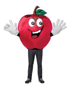 Disfraz de manzana apetitosa para adulto