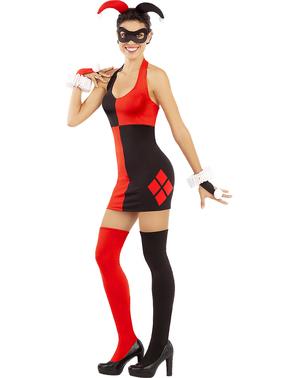 Σέξι γυναικεία στολή Χάρλεϊ Κουίν - DC Comics