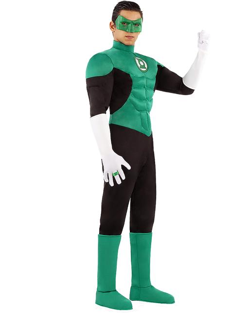 Disfraz de Linterna Verde para hombre