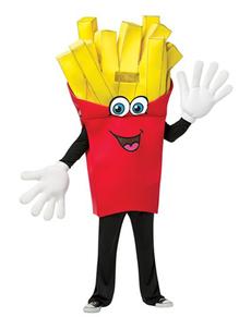 Disfraz de patatas fritas para adulto