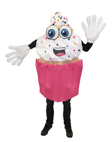 Disfraz de cupcake apetitoso para adulto