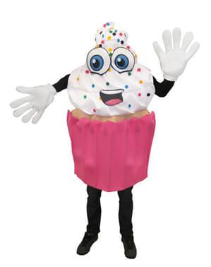 Costume da cupcake appetitoso per adulto