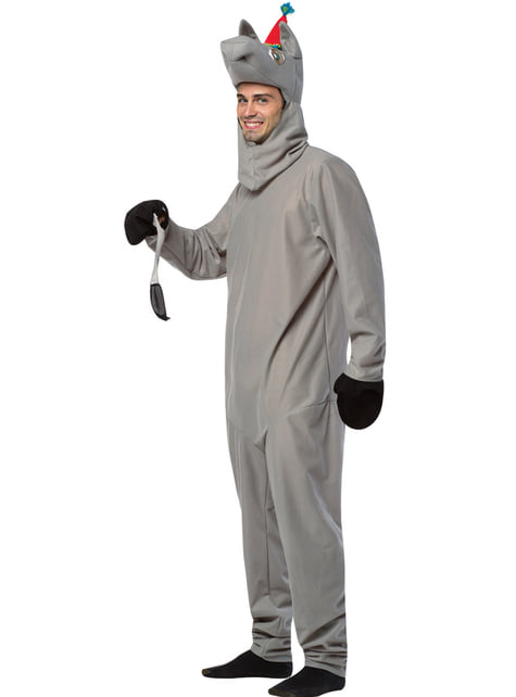 Disfraz de pon la cola al burro para pareja