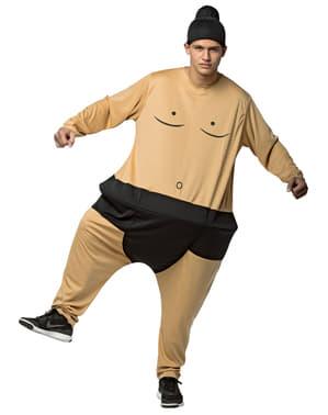 Feit sumo bryter kostyme til voksen