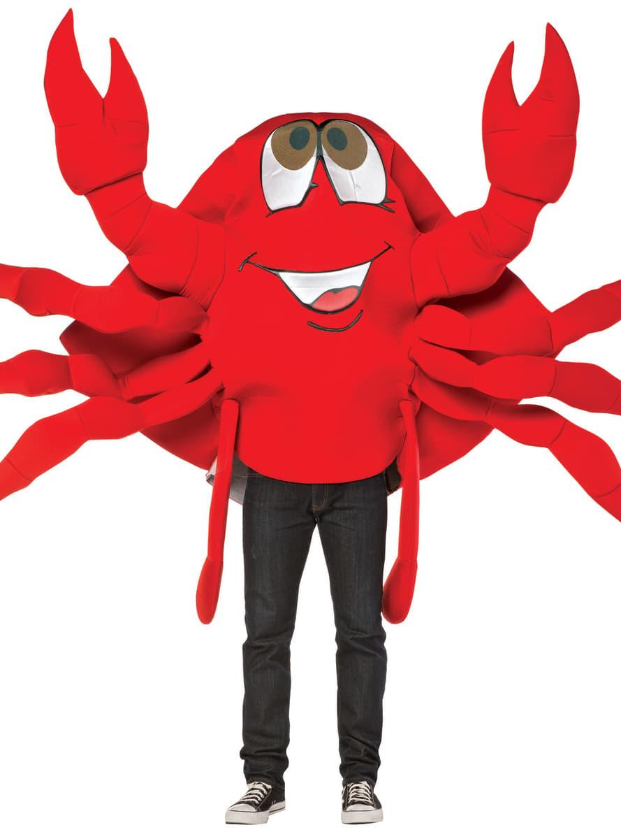 Adult S Fun Crab Costume