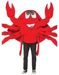 Disfraz de cangrejo divertido para adulto